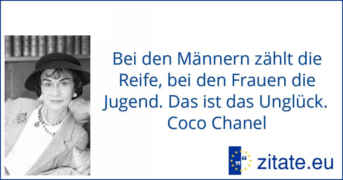 Coco Chanel Zitate Eu