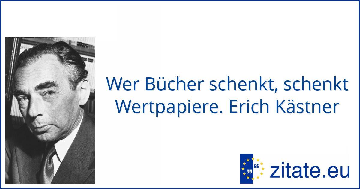 Erich Kästner Zitate Eu