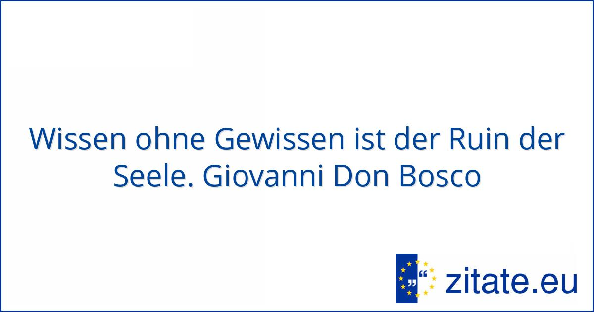 Don Bosco Zitate