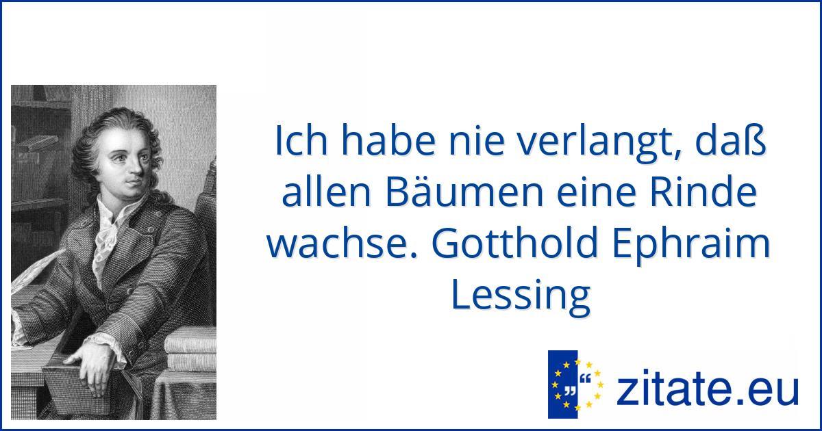 Gotthold Ephraim Lessing | zitate.eu