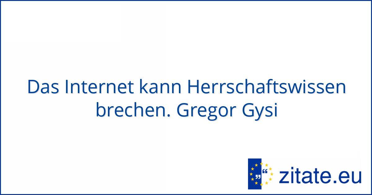 Gregor Gysi Zitate