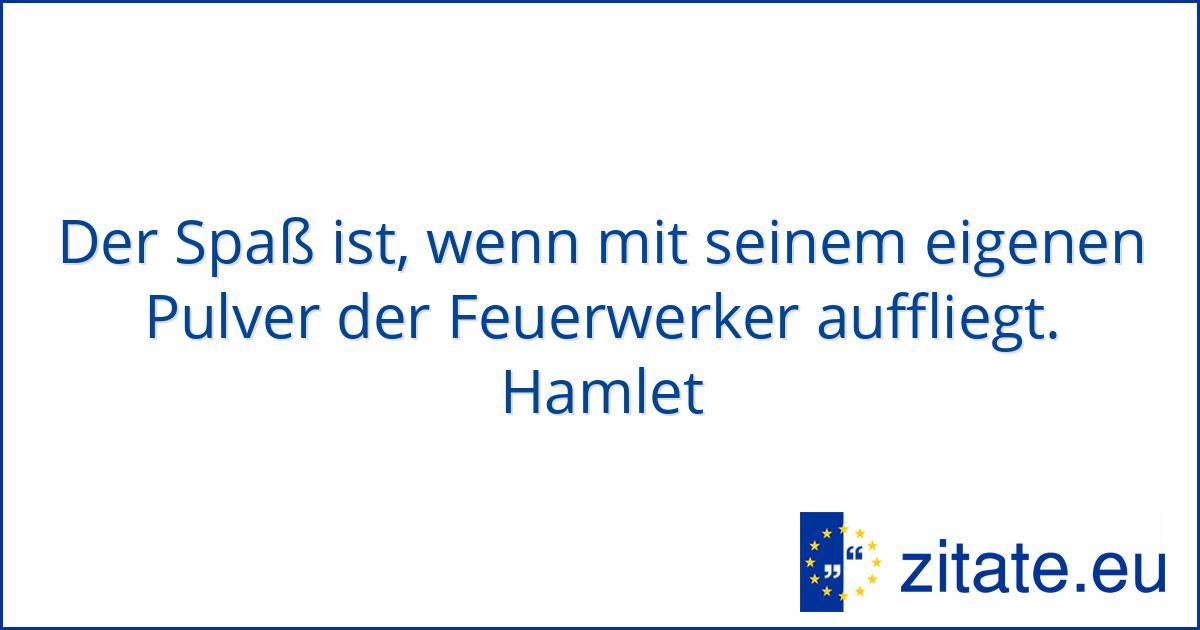 Hamlet zitate