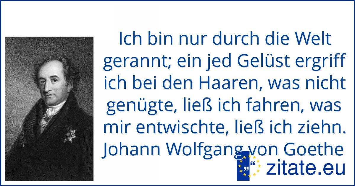Johann Wolfgang von Goethe   zitate.eu