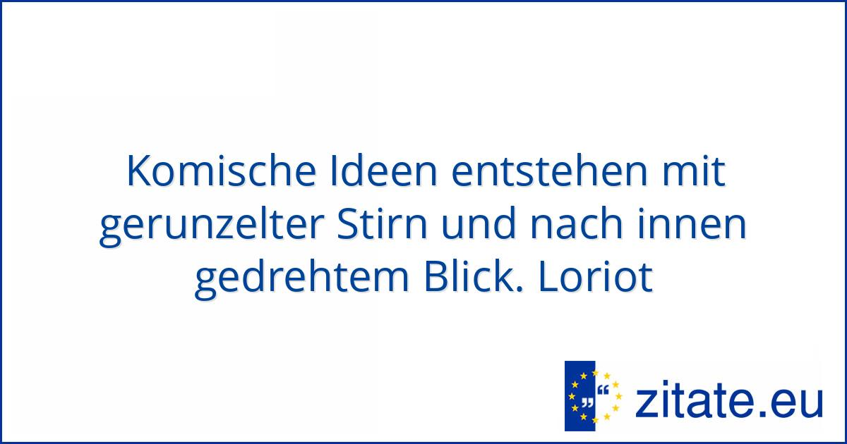 Loriot Zitate