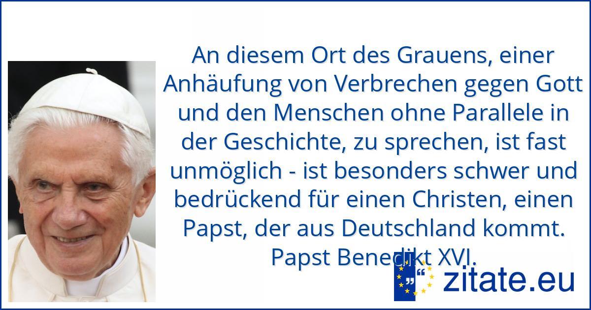 Papst Zitate