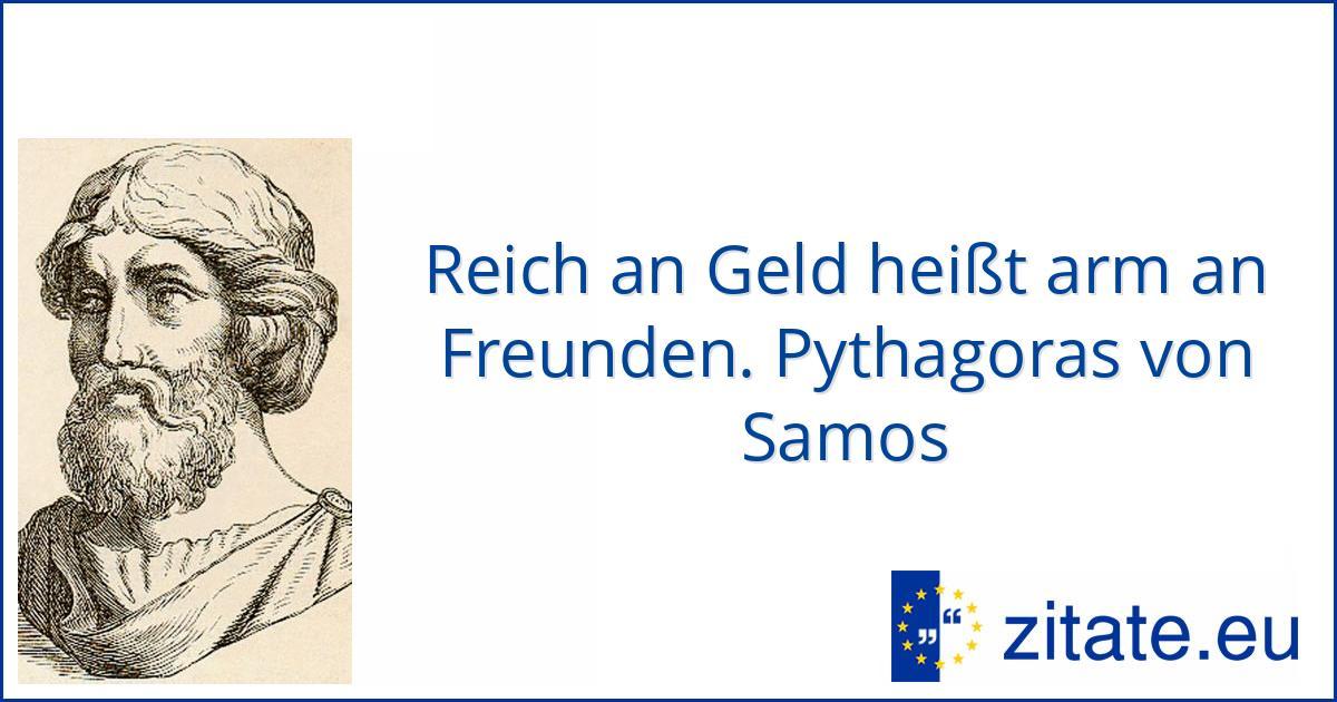 pythagoras von samos   zitate.eu
