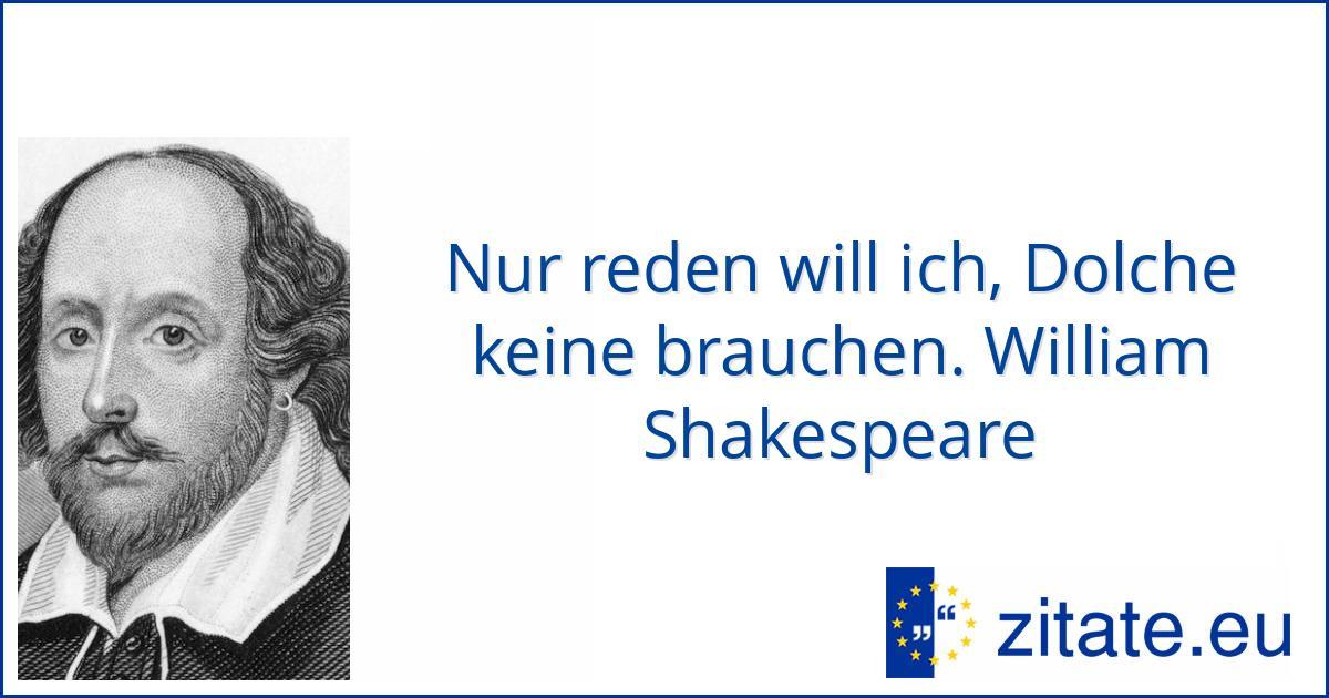 Zitate Shakespeare