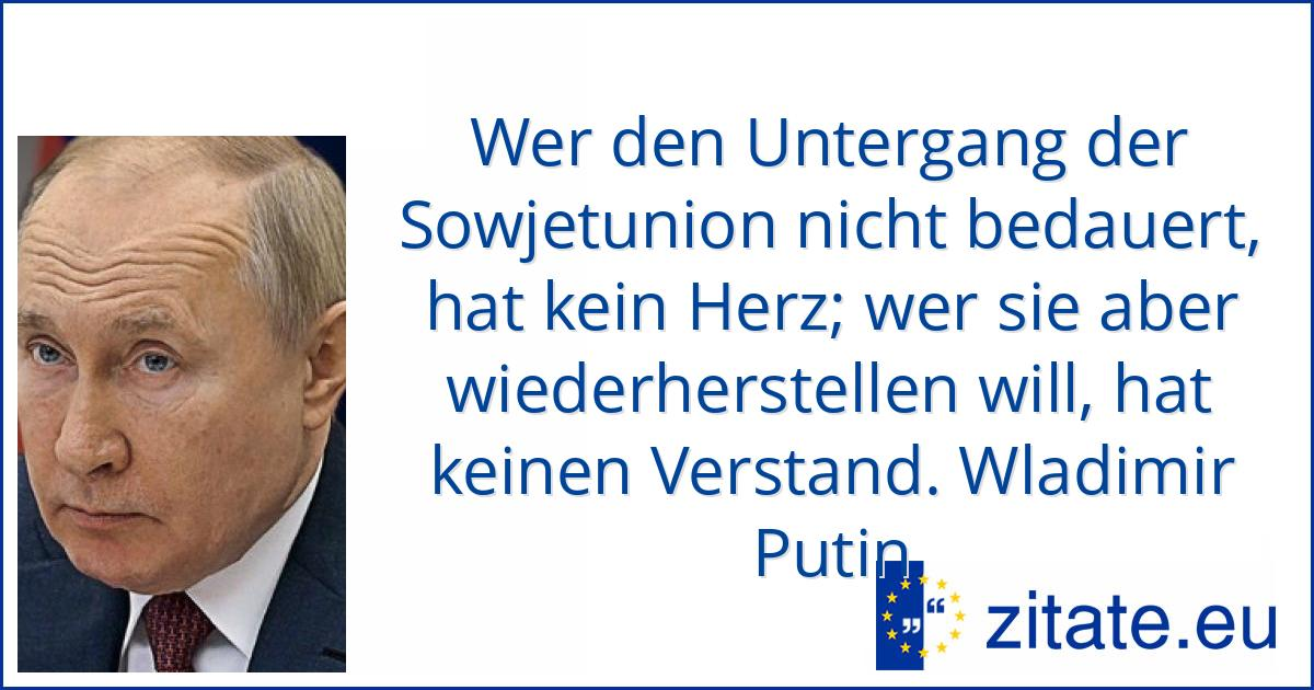 Putin Zitate
