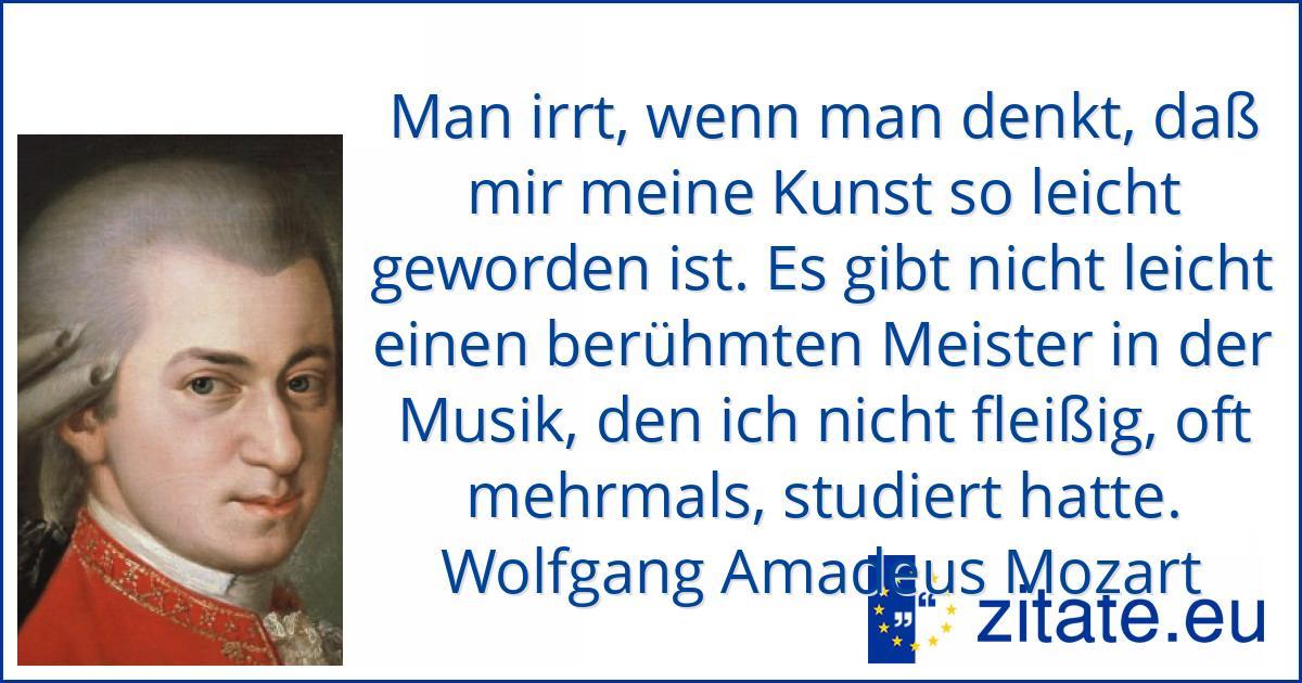 Zitate Mozart