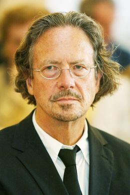 Peter Handke - By The original uploader was Mkleine at German Wikipedia (Transferred from de.wikipedia to Commons.) [GFDL (http://www.gnu.org/copyleft/fdl.html) or CC-BY-SA-3.0 (http://creativecommons.org/licenses/by-sa/3.0/)], via Wikimedia Commons