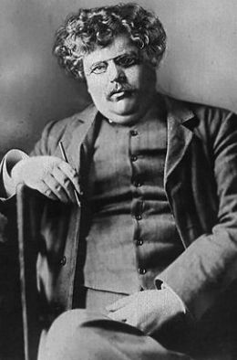 Gilbert Keith Chesterton - By Parzi [GFDL (http://www.gnu.org/copyleft/fdl.html) or CC-BY-SA-3.0 (http://creativecommons.org/licenses/by-sa/3.0/)], via Wikimedia Commons