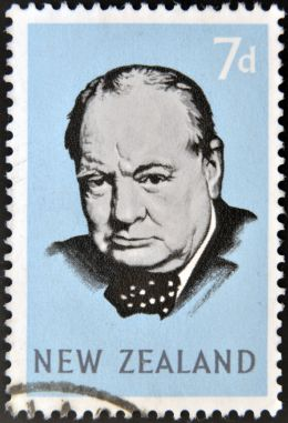 Sir Winston Spencer Churchill - neftali/Shutterstock.com