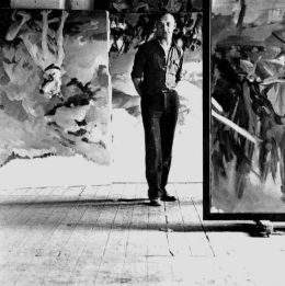 Georg Baselitz - By Lothar Wolleh (www.lothar-wolleh.de) [GFDL (http://www.gnu.org/copyleft/fdl.html) or CC-BY-SA-3.0 (http://creativecommons.org/licenses/by-sa/3.0/)], via Wikimedia Commons