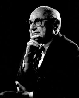 Milton Friedman - By The Friedman Foundation for Educational Choice (RobertHannah89) [CC0], via Wikimedia Commons