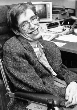 Dr. Stephen William Hawking - By NASA [Public domain], via Wikimedia Commons