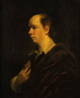 Oliver Goldsmith - Joshua Reynolds [Public domain], via Wikimedia Commons