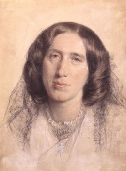 George Eliot - Frederick William Burton [Public domain], via Wikimedia Commons